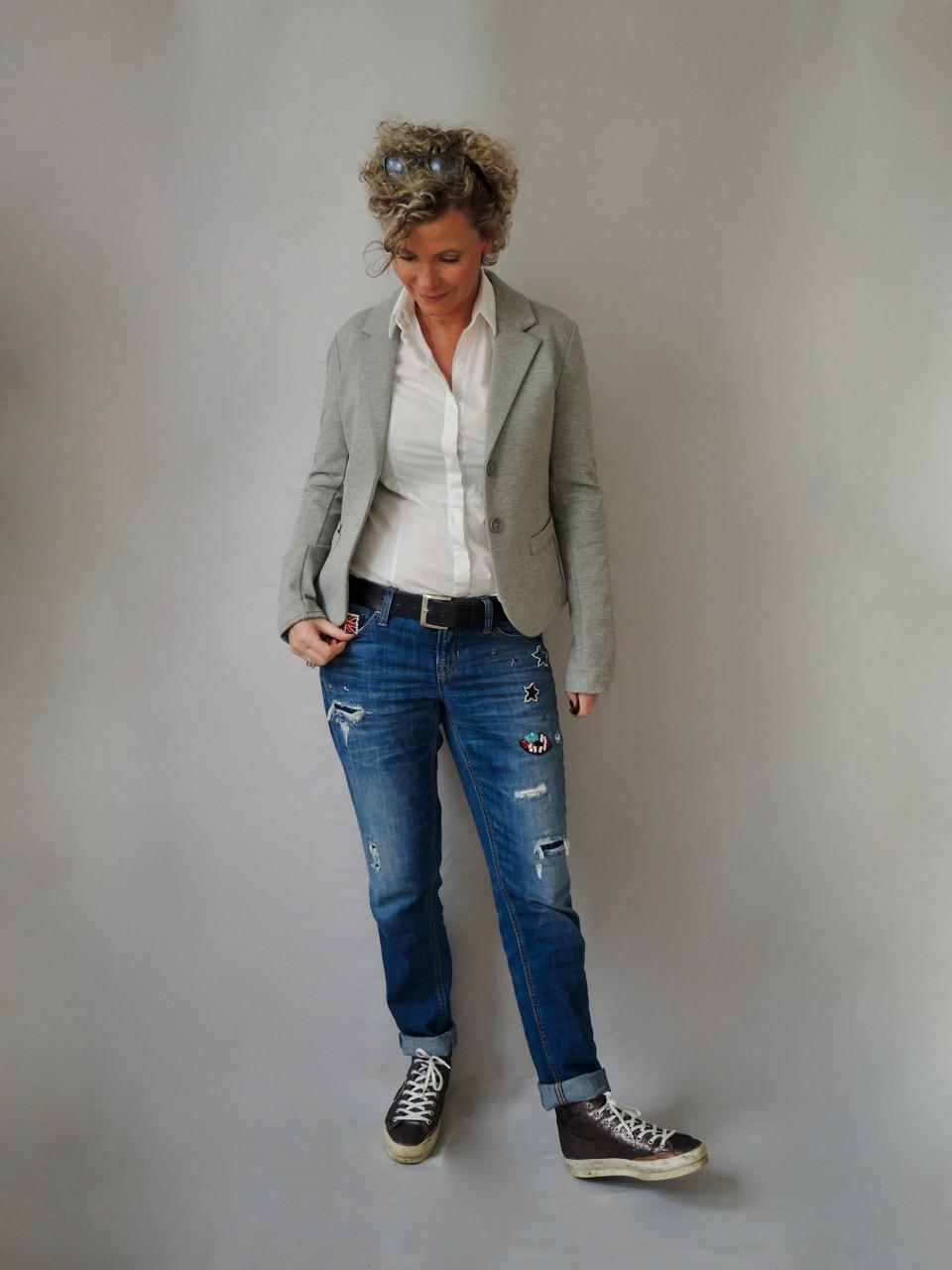 Patches und jeans women2style - Frauen style ideen ...