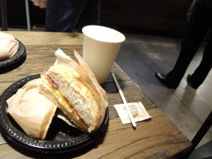 Frühstück in NY