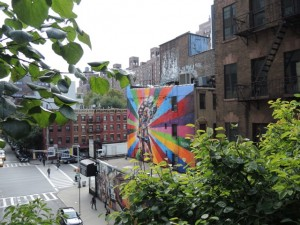 Higline NY Graffity