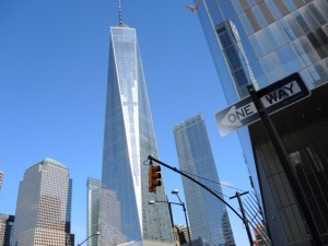 One World Trade Center NY quer