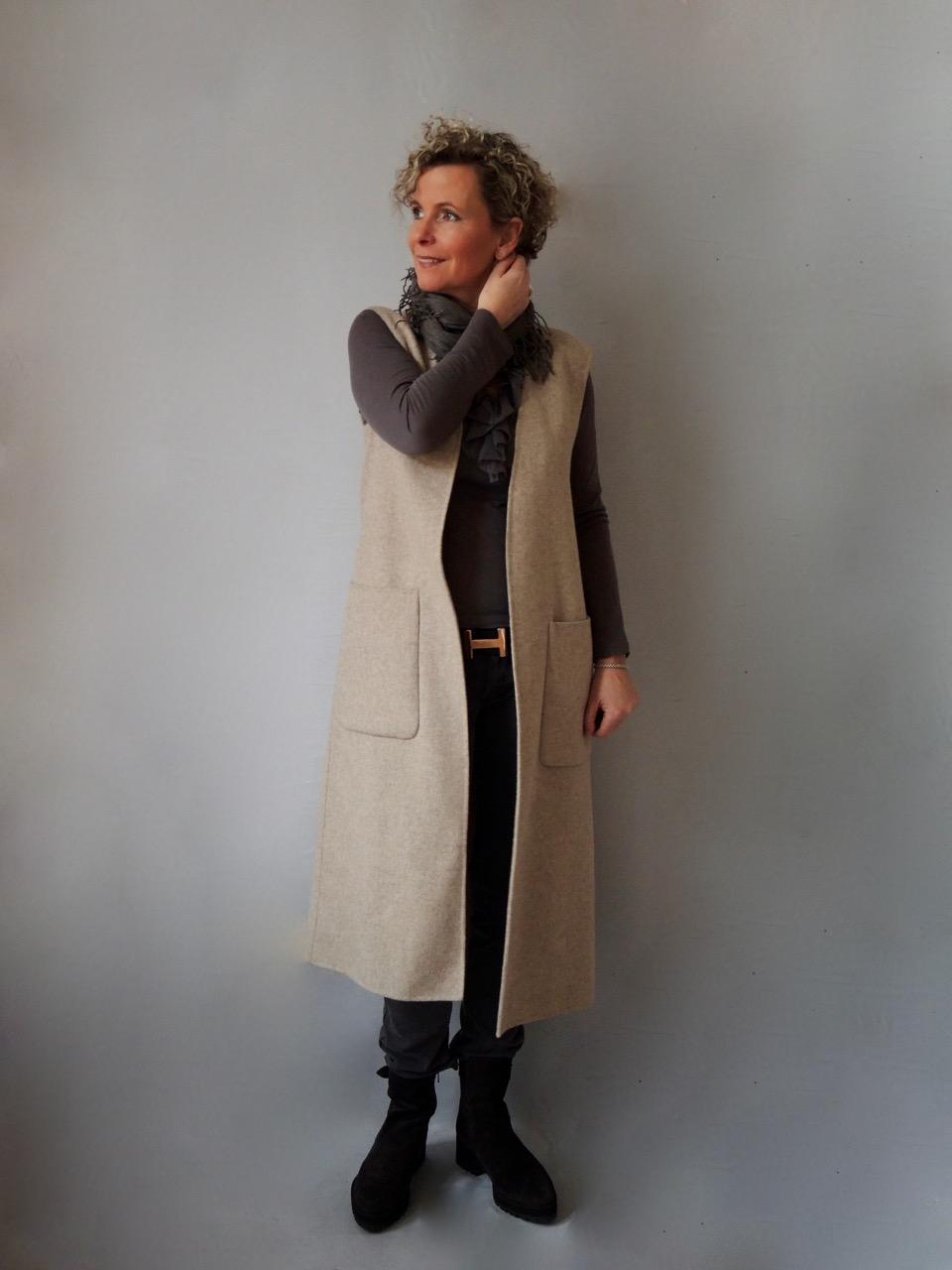 new styles 230d0 0e35c Lange Westen oder ärmellose Mäntel - women2style