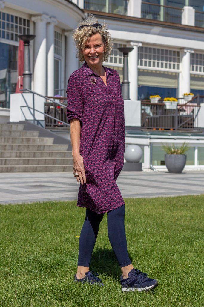 women2style, Olsen, Olsen Fashion, ue50, 50plus, Marine, Herbstlook, Outfit ue50