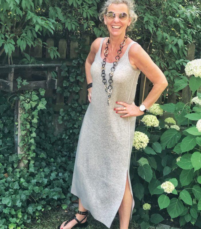 women2style, Outfit ue50, 50 plus, lange Kleider