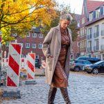 women2style, Kleid, braun, Wollmantel