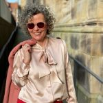 Schluppenbluse-Seidenblusen-Classy Look-women2style-50plus-Outfit Inspirationen-1